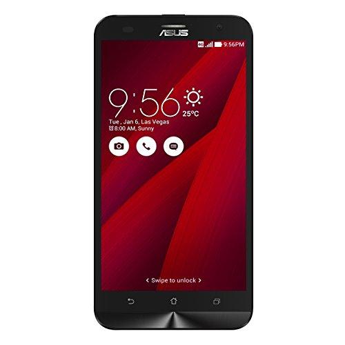 """Asus ZenFone 2 Laser 5.5"""" Smartphone, 16 GB, Dual SIM, Rosso [Italia]"""