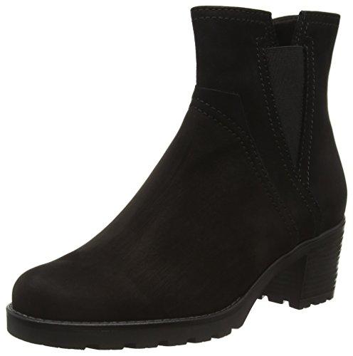 Gabor Shoes Comfort Sport, Stivaletti Donna, Nero (Schwarz Mel.), 42.5 EU
