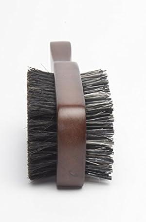 Diane 100% Boar 2-Sided Club Brush, Medium and Firm Bristles, D8115 (Tamaño: 2-Sided Club)