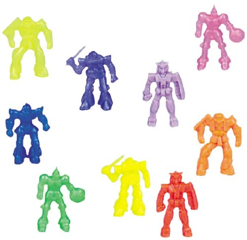Pack 140 Battle Space Robot 1-3/4 inch (44mm) Toy Figures