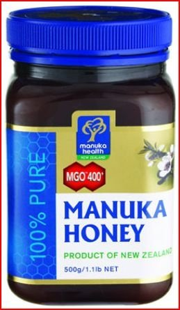 Active MGO 400+ (Old 20+) Manuka Honey 100% Pure
