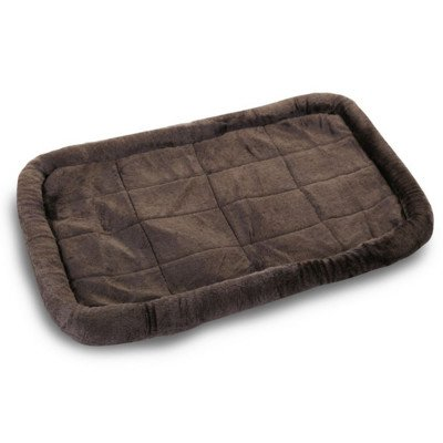 Majestic Pet 24-Inch Charcoal Crate Pet Bed Mat front-1063385