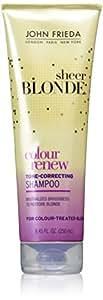 John Frieda Sheer Blonde Color Renew Tone Restoring Shampoo - 8.45 oz