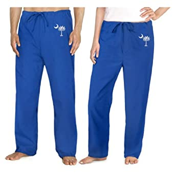South Carolina Palmetto Scrubs Bottoms Pants-Size SM- Palmetto Moon Men Ladies