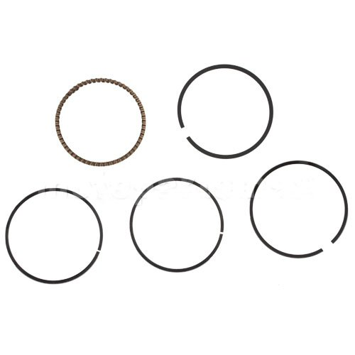 Promax Piston Ring Set for 110cc ATVs Dirt Bikes Go Karts 110 cc 110C Quad 4 Wheeler Pit Bike Dune Buggy Sandrail Taotao SunL JCL Coolster Kandi Supermach Tank SSR Coolster Roketa SDG NST X-Treme Baja Kandi Kinroad BV Powersports DongFang