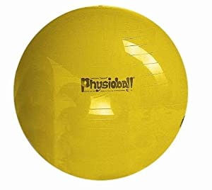 Physioball Standard Yellow Exercise Ball - 105 cm