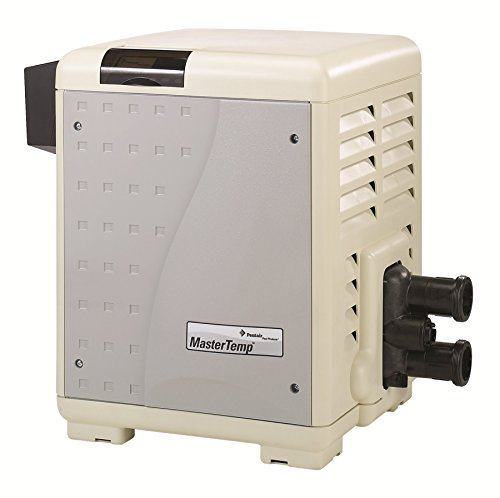 Pentair 460736 MasterTemp High Performance Eco-Friendly Pool Heater, Natural Gas, 400,000 BTU