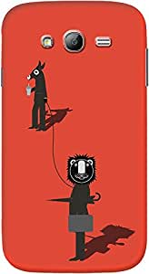 DailyObjects Lion and The Donkey Case For Samsung Galaxy Grand 2 (Back Cover)