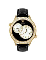 NEW! Aqua Master Men's Rio Two-Time-Zone Diamond Watch, 2.45 ctw