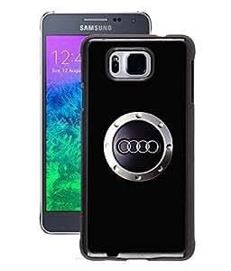 Fuson 2D Printed Car Designer Back Case Cover for Samsung Galaxy Alpha - D584