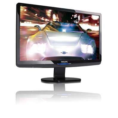 Philips 230E1HSB 23-Inch LCD Monitor (Glossy Black)