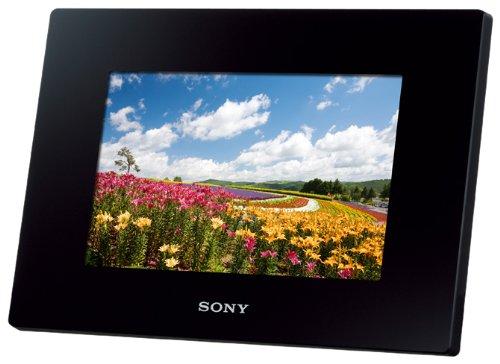 SONY デジタルフォトフレーム S-Frame D720 7.0型 内蔵メモリー2GB ブラック DPF-D720/B
