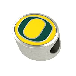 Oregon Ducks Charms Fit Most European Style Charm Bracelets