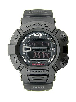 Casio Men's G9000MS-1CR G-Shock Military Concept Black Digital Watch