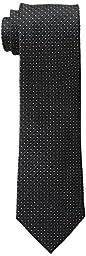 Michael Kors Men\'s Metropolitan Neat Tie, Black, One Size