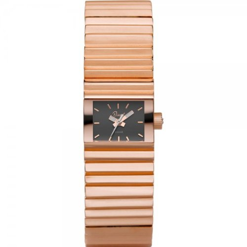 Diesel DZ5268 Ladies Rectangular Rose Gold Watch