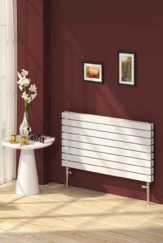 Renia Rione Dbl Designer Radiator Length: 1000MM, Height: 550MM