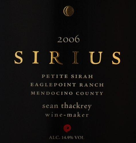 2006 Thackrey Sirius 1.5 L