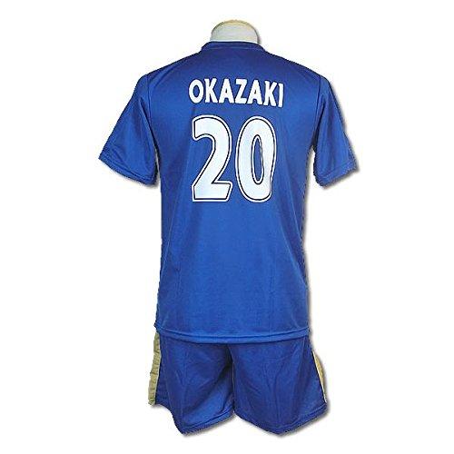 サッカーユニフォーム 2015-2016モデル レスター・シティ ホーム 岡崎慎司 OKAZAKI 背番号20 レプリカサッカーユニフォーム 子供用 S