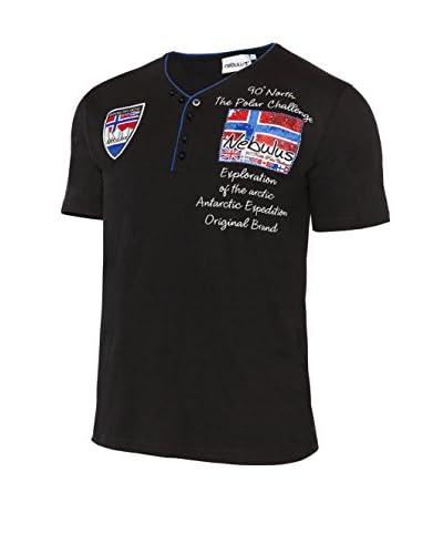 Nebulus T-Shirt Manica Corta Inator [Nero]