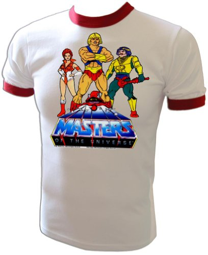 Vintage 1983 Mattel He-Man Masters of the Universe Cartoon Heroesl T-Shirt
