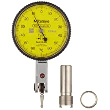 Mitutoyo Dial Test Indicator, Basic Set, Horizontal Type, Metric, 8mm Stem Diameter