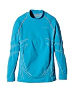 SPAIO ® Camiseta Técnica Thermo Kids' Long Sleeve Shirt W01 (Turquesa)