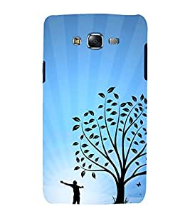 printtech Nature Tree Abstract Back Case Cover for Samsung Galaxy Core Prime G360