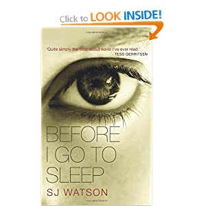 Before I Go To Sleep - S J Watson