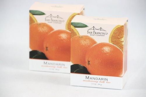 san-francisco-soap-co-mandarin-moisturizing-bath-bar-two-35-oz-bars-by-san-francisco-soap-company