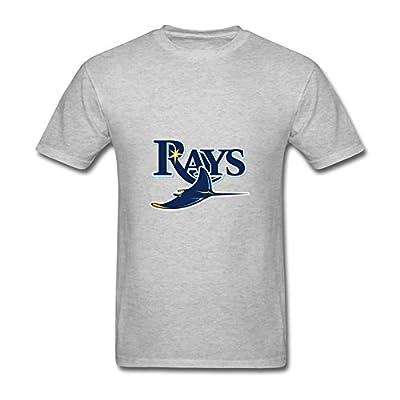 Men's MLB Tampa Bay Rays Logo Short Sleeve T Shirts