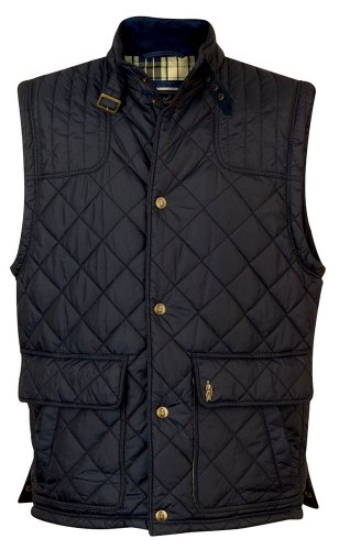 Jack Murphy Harry Quilted Gilet Midnight XL