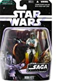 Star Wars - 2006 - Hasbro - Saga Collection - Boba Fett Action Figure - #006 - Battle of Carkoon - Episode VI - Return of the Jedi - w/ Exclusive Hologram Figure - New - Limited Edition - Collectible