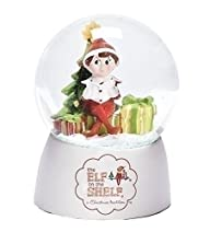 3.5″ LED Elf In Globe 65mm White Logo Base With Batteries by Roman