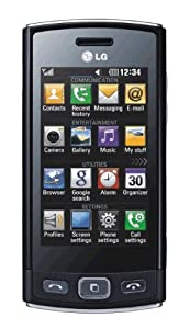 T-Mobile LG Viewty Snap GM360 Pay As You Go Mobile Phone - Black