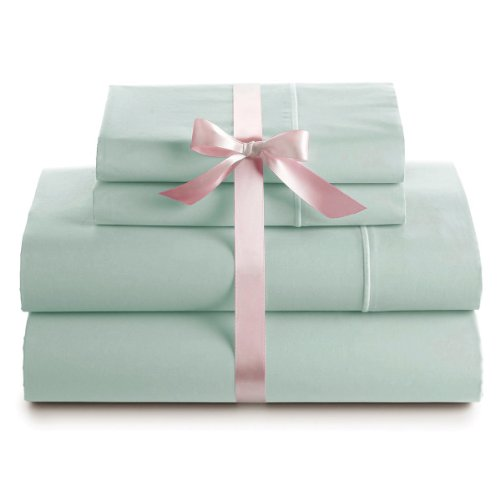 Big Save! 500 Thread Count 100% Egyptian Cotton Luxury Deep Pocket Sheet Set (Queen, Sage)