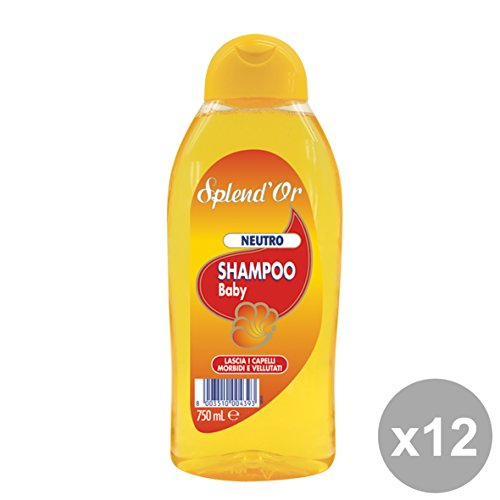 Set 12 SPLEND'OR Shampoo BABY Neutro 750 Ml. Prodotti per capelli
