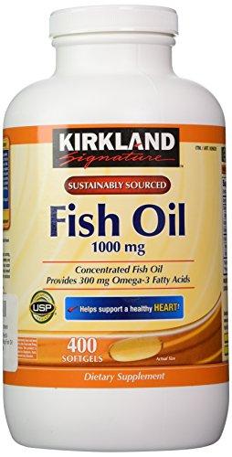 Kirkland signature omega 3 fish oil concentrate 400 for Kirkland fish oil reviews
