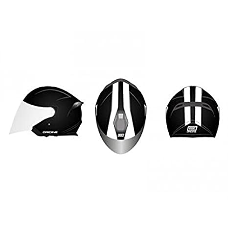 Casque origine palio street noir brillant l - Origine OR009001L