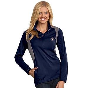 Houston Astros Ladies Delta Pullover (Team Color) by Antigua