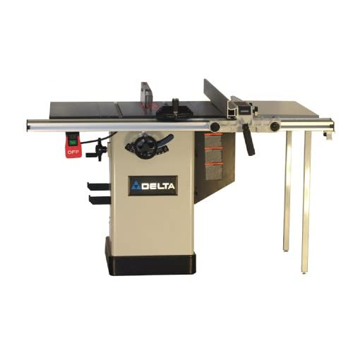 Delta 36 716 10 Inch Hybrid Saw With 30 Inch Unifence Rail And Table Board Table Saw