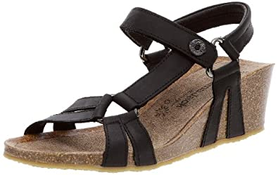 panama jack jane b3 jane b3 damen sandalen schwarz negro black eu 36 schuhe. Black Bedroom Furniture Sets. Home Design Ideas