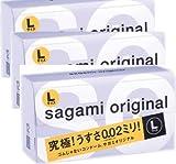 サガミオリジナル 002 Lサイズ 12個×3P
