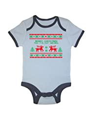 Festive Threads Christmas Sweater Bodysuit