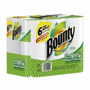 Bounty Paper Towels (6 Rolls)