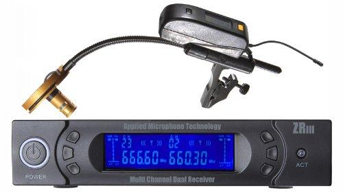 Applied Microphone Technology Amt P808-5C Wireless Trombone Microphone