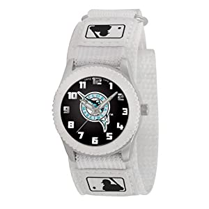 Game Time Mid-Size MLB-ROW-FLA Rookie Florida Marlins Rookie White Series Watch by Game Time