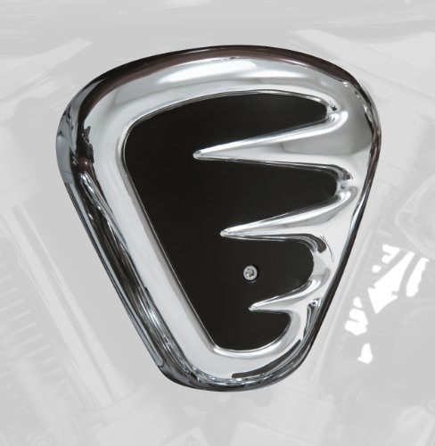 Show Chrome Accessories (62-106) Contours Air Cleaner Cover