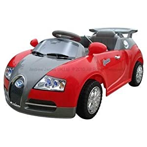 Andrew James Ride on Electric Sports Car in Red With Remote Control