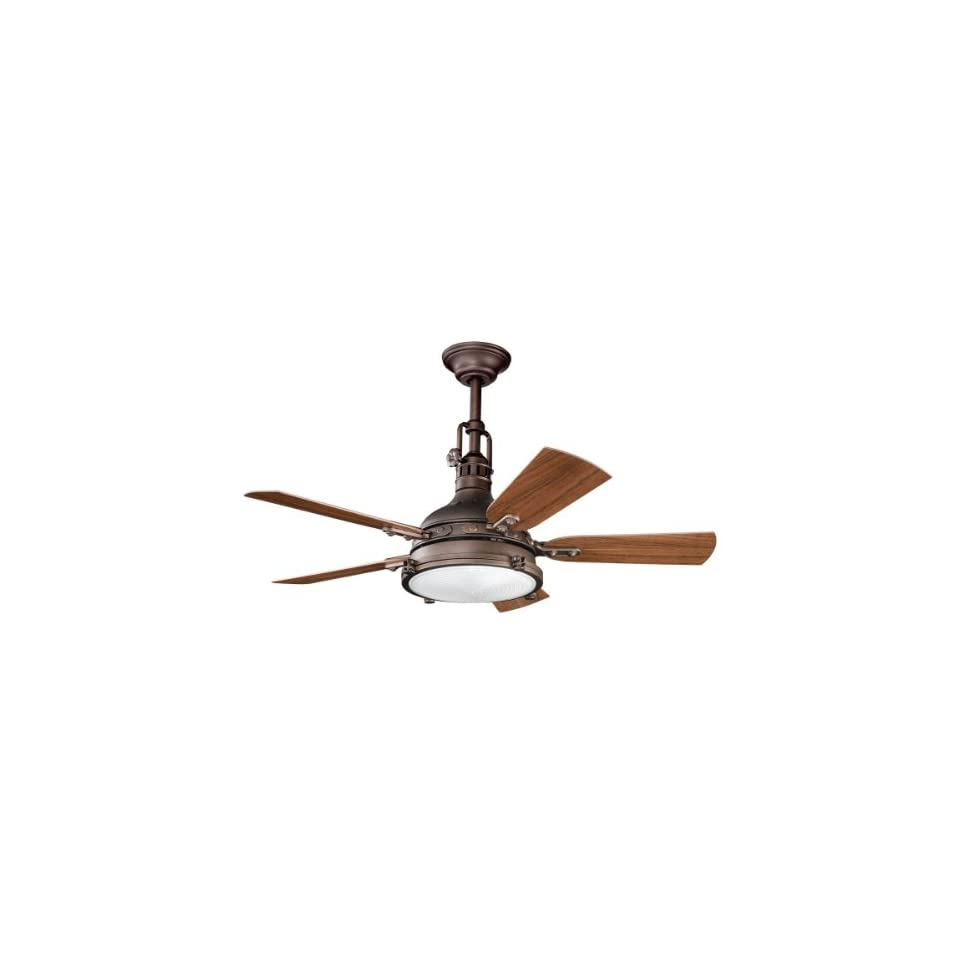 Bay Patio Weathered Copper 44 Outdoor Ceiling Fan with Light & Remote
